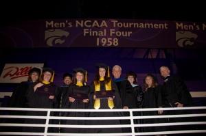 Dean Debbie Mercer, Tiffany Treloar, Dr. Doris Carroll, Hannah Whitcomb, Kelley Bethell-Smith, Dr. Dan Wilcox, Dr. Christy Craft, Dr. Judith Hughey, Dr. Ken Hughey