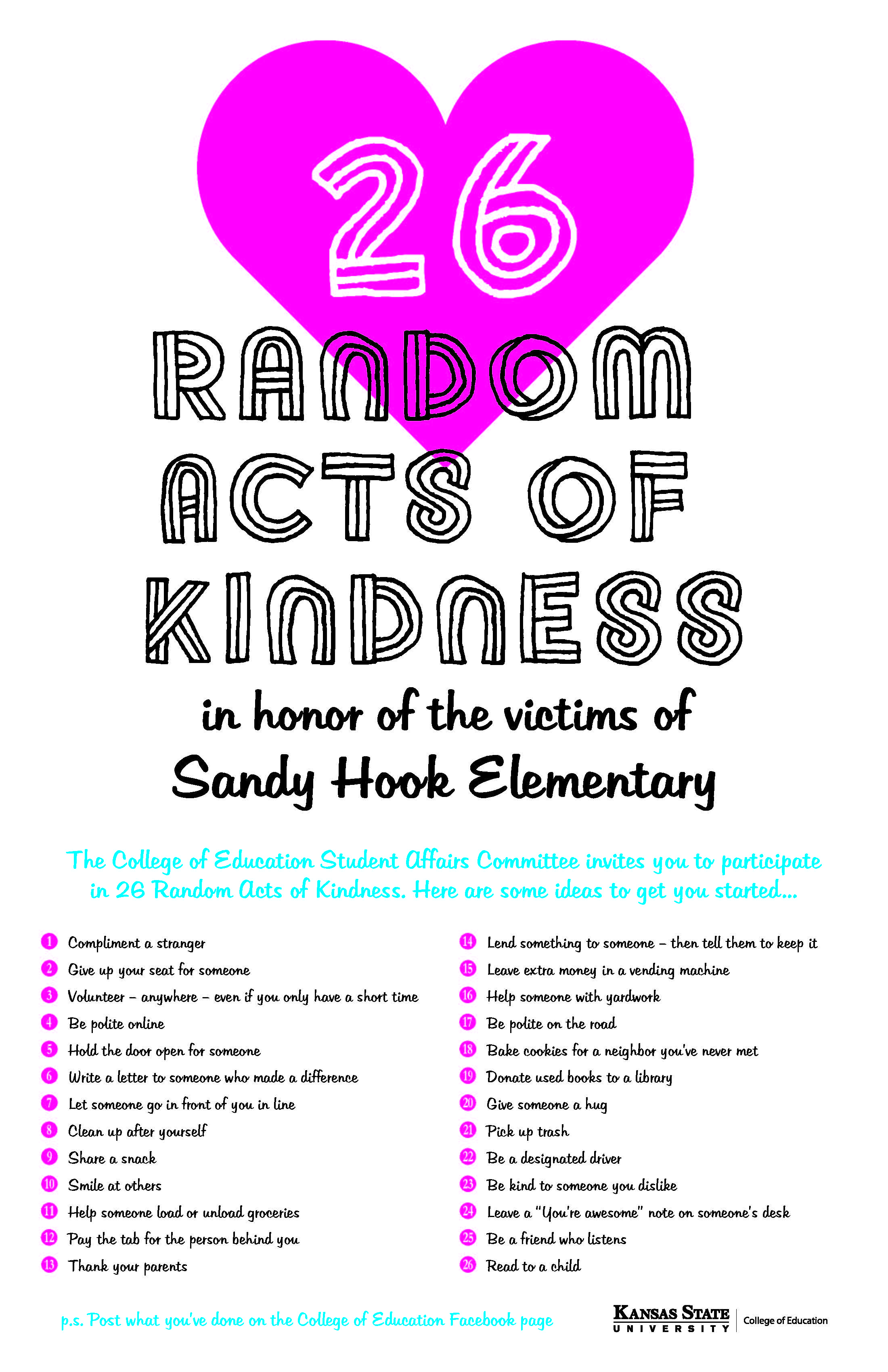 essays on random acts of kindness