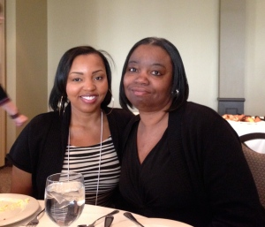 Tianna Harrision and her mother