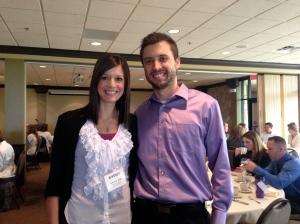 Ashley Blake and her husband